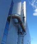 дымовая труба турбины